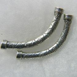 Pair of chunky bracelet bars.
