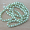 PL0442 - Light mint green 4mm glass pearl. Pk of approx 120