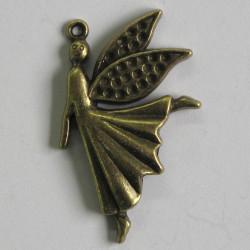 Large ornate fairy charm in a steam punk style.