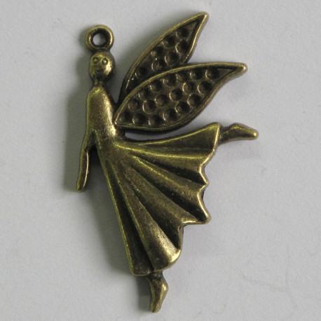 F8650 - Large Ornate Fairy Charm in a Steam Punk Style.