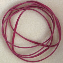 1m faux suede cord, fuchsia pink.