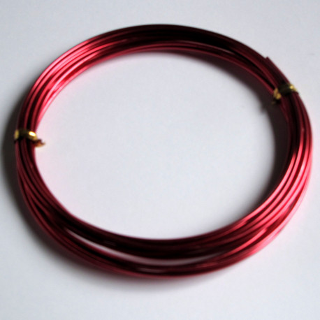 TH1509 - 1.5mm x 3m aluminum wire. Rose Pink