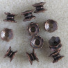 F4126c - Spacer Bead, Antique Copper Coloured. Pack of 10.