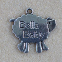 Bella baby, sheep pendants, `only 10p each`.