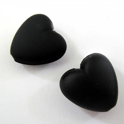 Black hearts. Pack of 10