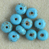 S2503 - Magnesite Rondelles, Pack of 10.