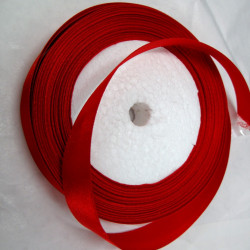 SALE114 - Red organza ribbon. Pack of 25 yards.