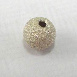Sterling silver laser cut beads. 5mm
