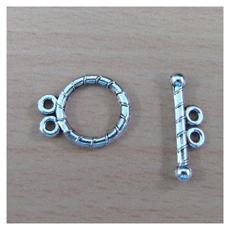 F6067 - Toggle with 2 loops. Per set.