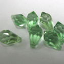 Green crystal drop. Pack of 10