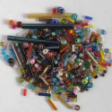 Mixed seed and bugle beads, 20g packs.