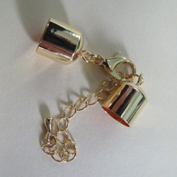 F4250g - Large bell closer with clasp and chain