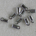 Rectangular cord ends, pack of 10.