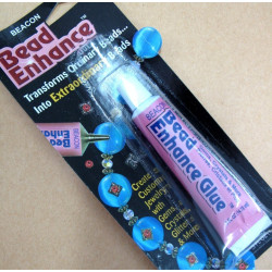 Bead enhance glue