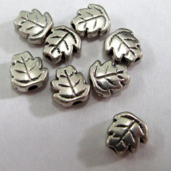 Pretty little leaf bead. Pack of 20