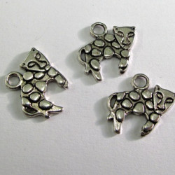 Cat charm. Pack of 10