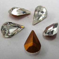 "SALE244 - Teardrop shape ""stones"". Pack of 10"