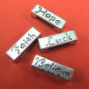 Sliders with word. Pack of 4