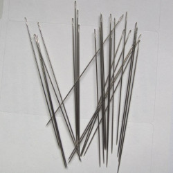 Pack of 25 size 10 beading needles
