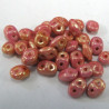 SuperDuos in an opaque lustre lobster pink, pack of 10g