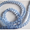 3mm light blue glass beads