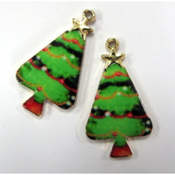 Christmas tree charms, pack of 2