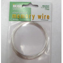 Silver colour bracelet memory wire, 12 loops