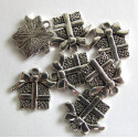 Christmas gift charms, pack of 10