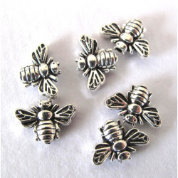 Bee beads, pack of 10