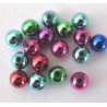 8mm bauble beads, pack of 100