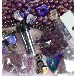 Bargain bundle, purples