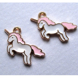 Unicorn charms, pack of 2