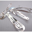 Hair clips, pack of 4