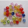 Random bicones, pack of 100