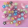 Little flower beads, pack of 50