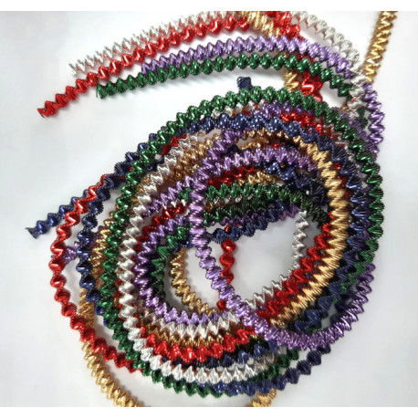Mixed 3mm boullion wire