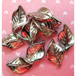 Silver leaves, pack of 20
