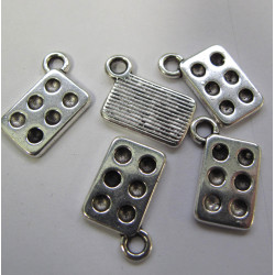 Baking tray charms, pack of 5