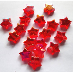 Red stars, pack of 30