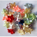 Pearly flowers, mixed pack of 30