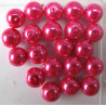 PL1010 - 10mm bright pink glass pearls