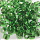 SB646 - Size 6 (approx 4mm x 3.5mm) Silver lined Green. Approx 10g