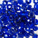 Size 6 seed beads blue lustre AB approx 10g