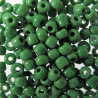 SB855 - green opaque Seed Beads approx 10g