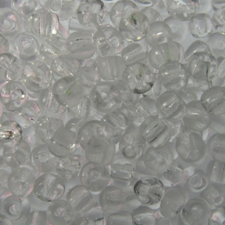 SB860 - clear transparent Seed Beads approx 10g