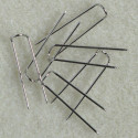 Display pins, silver colour. Pack of 100