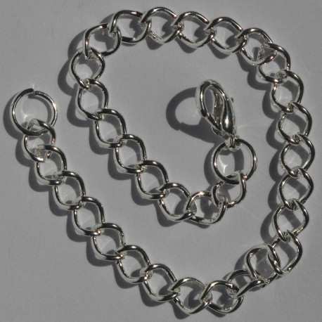 F4002S - Bracelet base - child size, silver colour