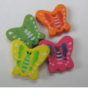 Butterfly beads. Pack of 10