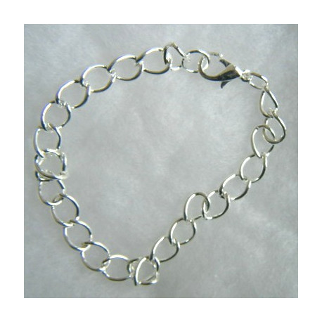 F4001S - Adult Size Bracelet, suitable for charms etc.