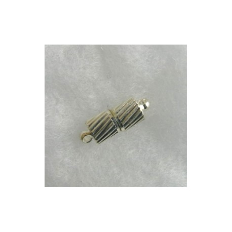 F4010S - Magnetic clasp, silver colour. Pack of 6